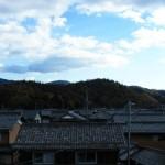 ティータイム:屋根の上から
