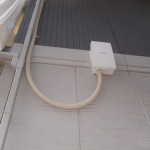 施工事例:接続箱の設置例