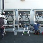 施工事例:工場への産業用太陽光発電の設置(全量自家消費)3