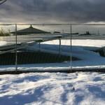 施工事例:野立て産業用太陽光発電(大雪でした)