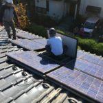 施工事例 : 太陽光発電システムの撤去工事