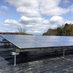 施工事例 : 野立て産業用太陽光発電システム