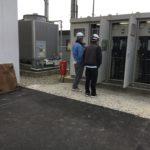 施工事例 : 野立て産業用太陽光発電システム2