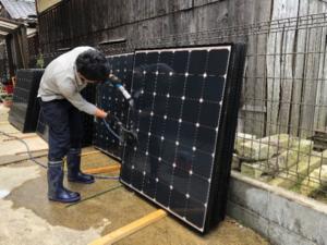 太陽光発電 滋賀 鳩よけカバー