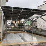 太陽電池の駐車スペースへの設置事例