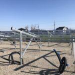 産業用太陽光:野立て 屋外パワコン設置