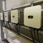 施工事例:産業用太陽光発電 連系作業