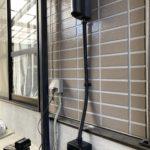 施工事例 : 電気自動車用充電コンセント設置