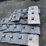 施工事例:瓦屋根への設置事例(瓦型金具)