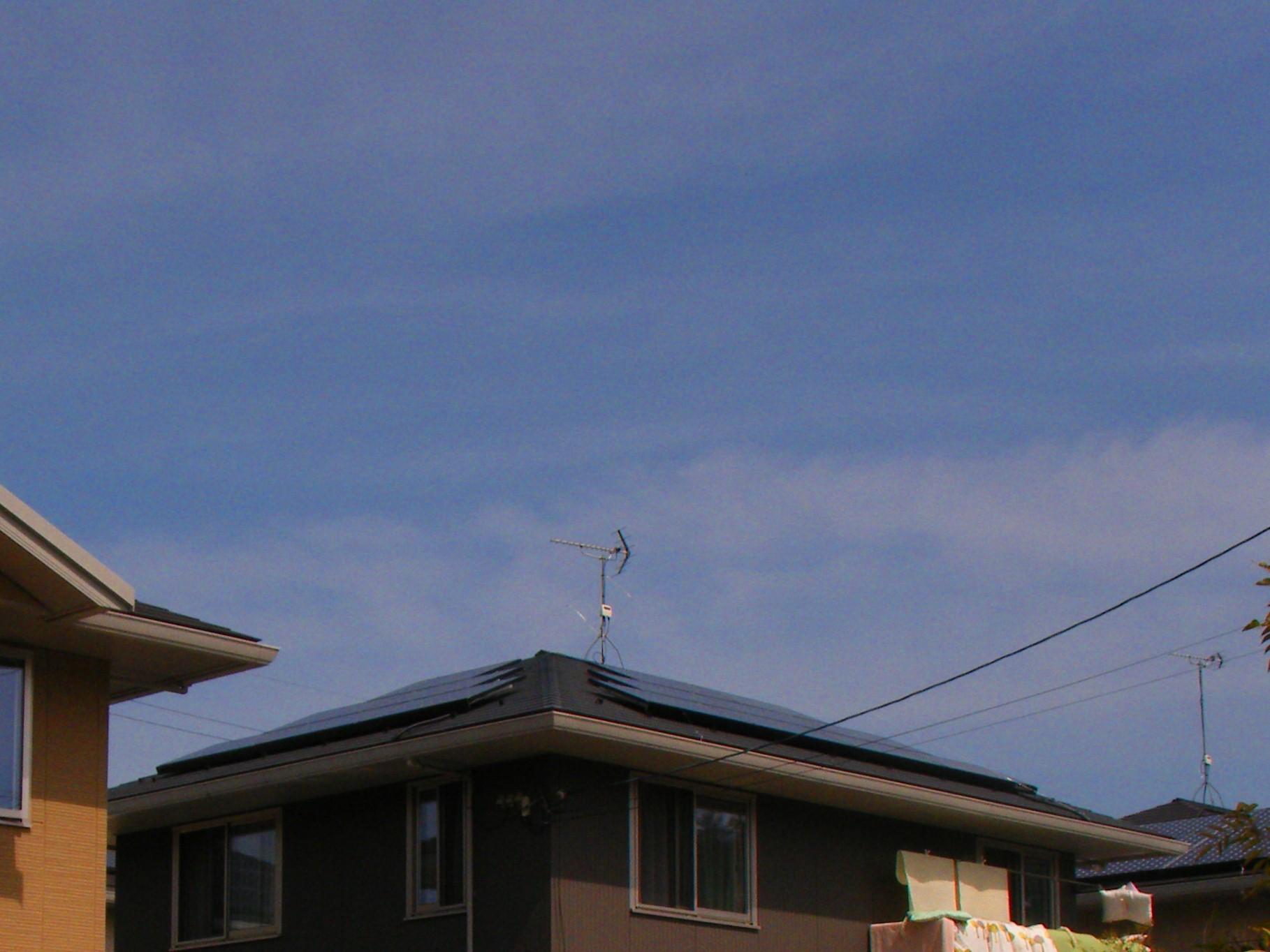 施工事例:彦根市 Oさま邸   太陽光発電 滋賀県