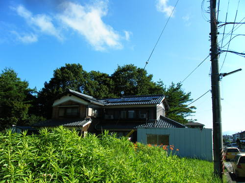 太陽光発電:甲賀市 Nさま邸