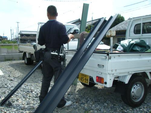施工事例:近江八幡市 鳩除け設置
